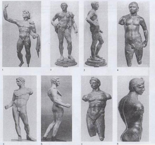 Εικ. 2. Τύπος Α' βασιλικών αγαλμάτων.