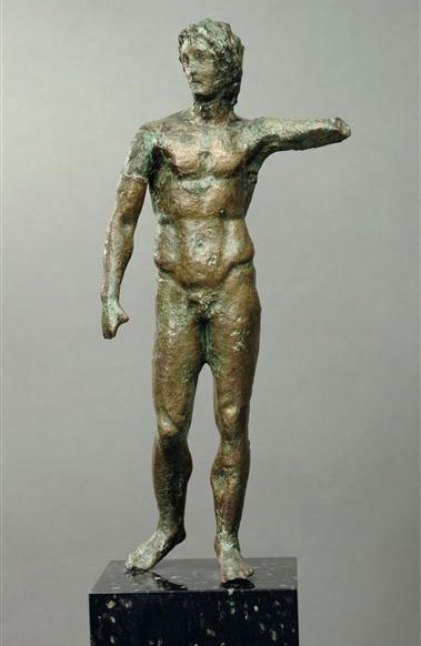 Εικ. 3β. Ο Αλέξανδρος με το δόρυ (Μουσείο Λούβρου).