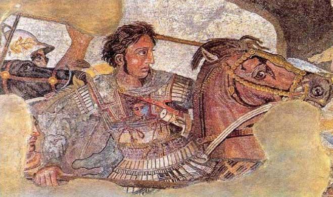 Εικ. 6β. Το ψηφιδωτό της Πομπηίας.