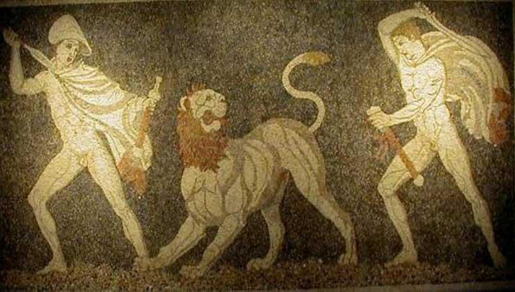 Εικ. 7β. «Κυνήγι του Λιονταριού», Πέλλα.