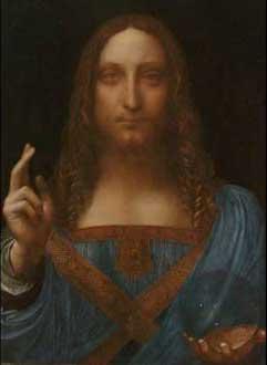 Η αποκάλυψη της γυάλινης σφαίρας στο χέρι του Χριστού κατέταξε τον πίνακα στα αδιαμφισβήτητα αριστουργήματα του Λεονάρντο ντα Βίντσι.