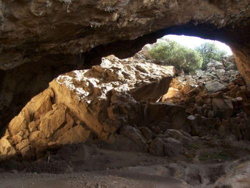Το σπήλαιο Φράγχθι στην Αργολίδα.