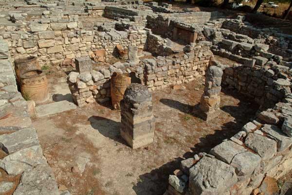 Άποψη του αρχαιολογικού χώρου Τυλίσσου.