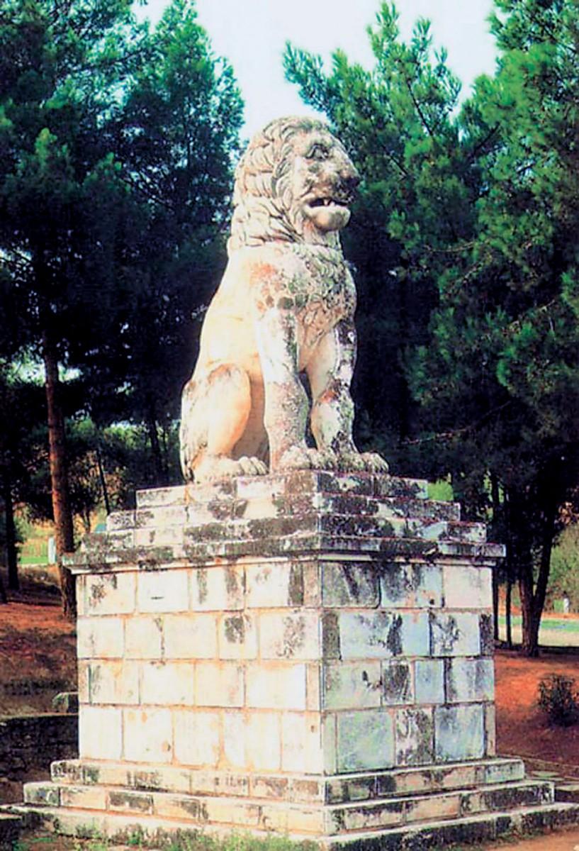 Ο Λέων της Αμφίπολης, δείγμα επιτάφιας πλαστικής του 4ου αι. π.Χ.