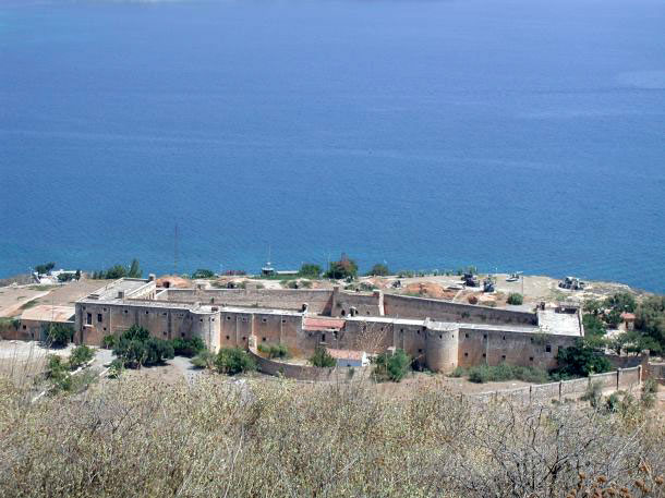 Το φρούριο Ιτζεδίν στην Κρήτη.