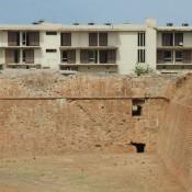 Αποκατάσταση προμαχώνα στον χώρο του Ξενία