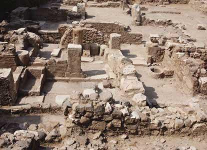 Η ρωμαϊκή κατοικία πιστεύεται ότι ήταν διώροφη.