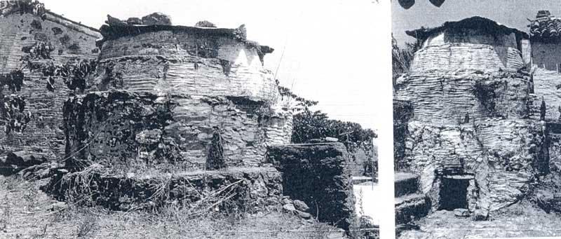 Εικ. 7. Μανταμάδο Λέσβου. Πλάγια όψη του κλιβάνου του Κ. Βαβούδη στον Ασπροπόταμο.