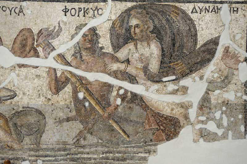 Ρωμαϊκό ψηφιδωτό από την Αντιόχεια.