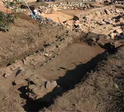 Από την ανασκαφή στη θέση Αγία Παρασκευή-Αραχαμίτες.