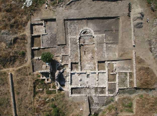 Άποψη του αρχαιολογικού χώρου του Butrint (Βουθρωτού).
