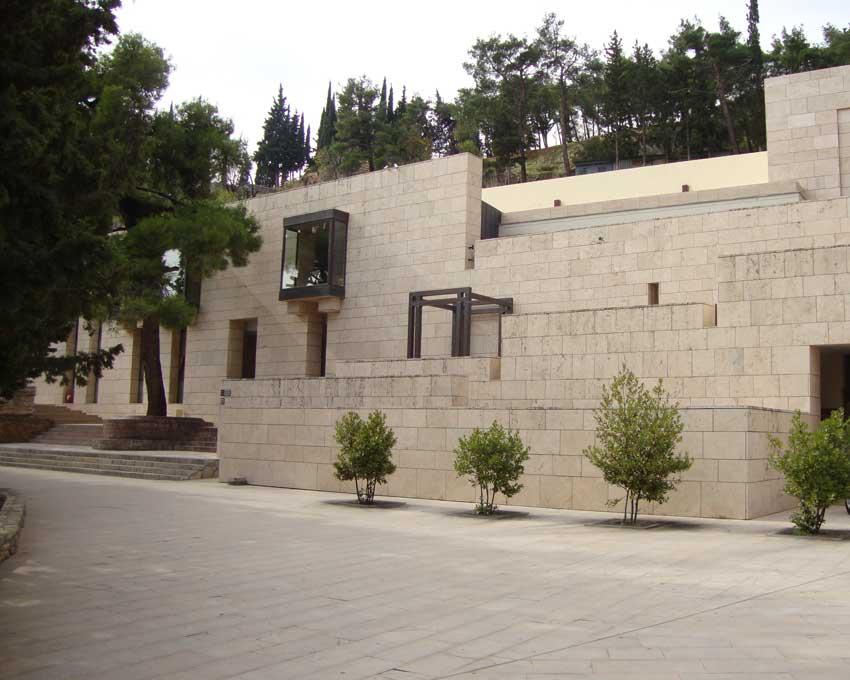 Το Αρχαιολογικό Μουσείο Δελφών.