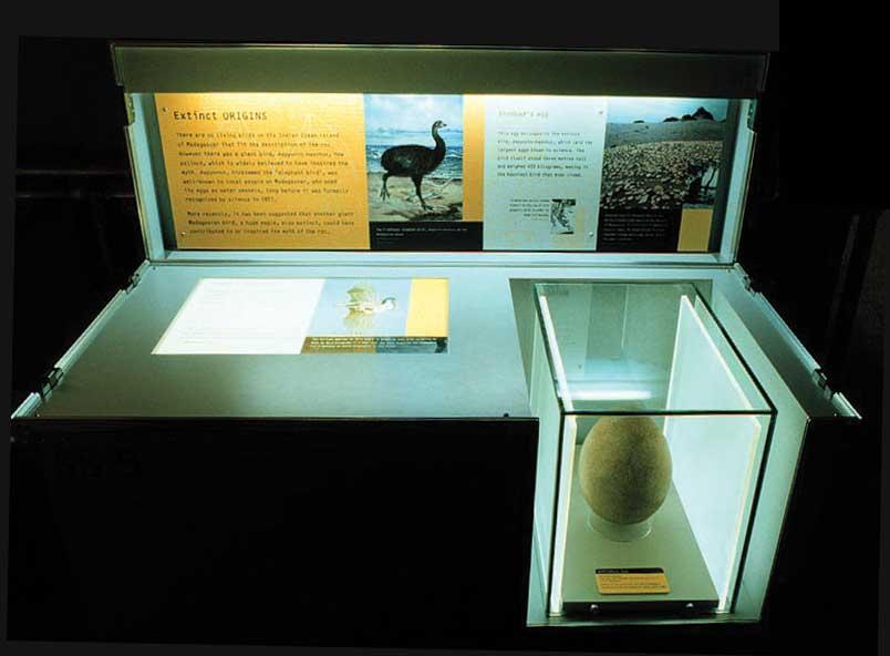 Μία από τις δημοφιλέστερες εκθέσεις του Μουσείου Φυσικής Ιστορίας του Λονδίνου με τίτλο «Μύθοι και Τέρατα» φιλοξενείται στον «Ελληνικό Κόσμο».