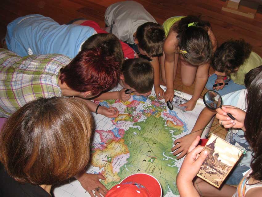 «Τα παιδία παίζει» στα εκπαιδευτικά προγράμματα του Μουσείου Ν. Καζαντζάκη.