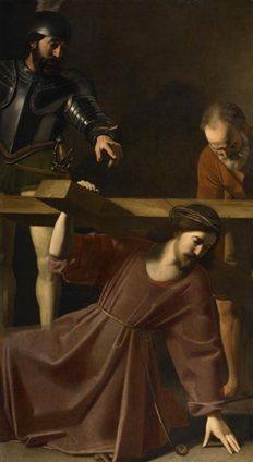 Σπουδή του Νικολά Τουρνιέ στο θέμα του Σταυρού του Μαρτυρίου. 1632.