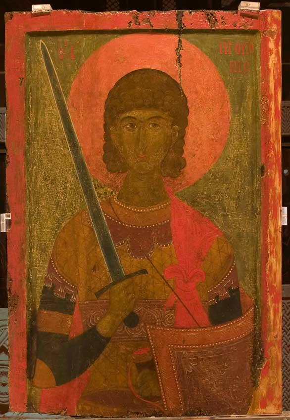 Άγιος Προκόπιος, 14ος αι. Από τη Βέροια.
