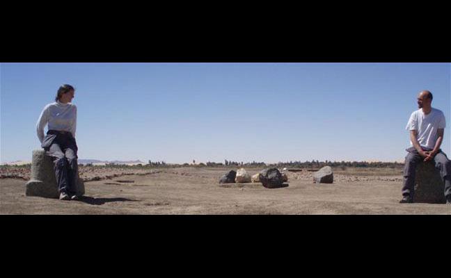 O Αλέξανδρος και η Ενριέτε στο νησί Σάι του Βόρειου Σουδάν.