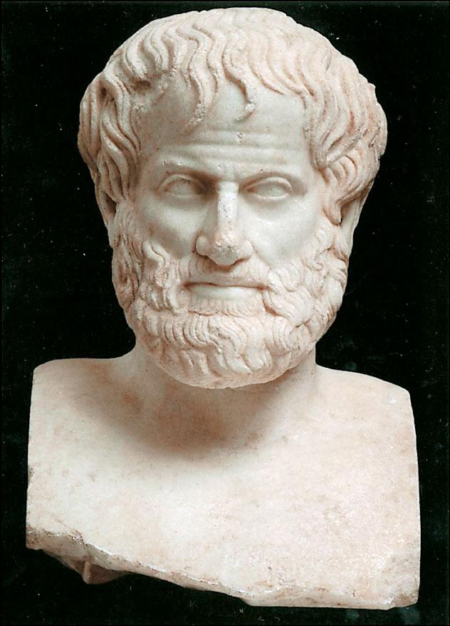 Ο Αριστοτέλης.