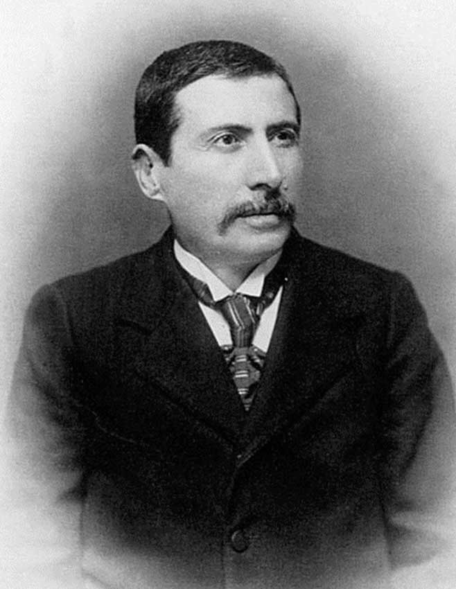 Ο Παναγής Καββαδίας (1851-1928).