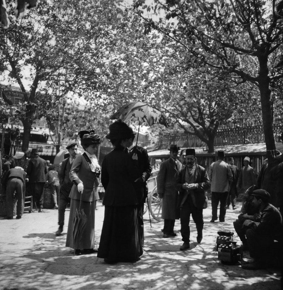 Η προκυμαία της Σμύρνης στις αρχές του 20ού αιώνα.© Συλλογή Pierre De Gigord.