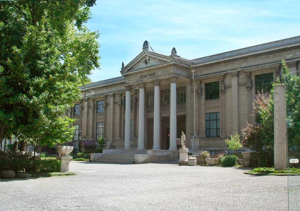 Το Αρχαιολογικό Μουσείο της Κωνσταντινούπολης.