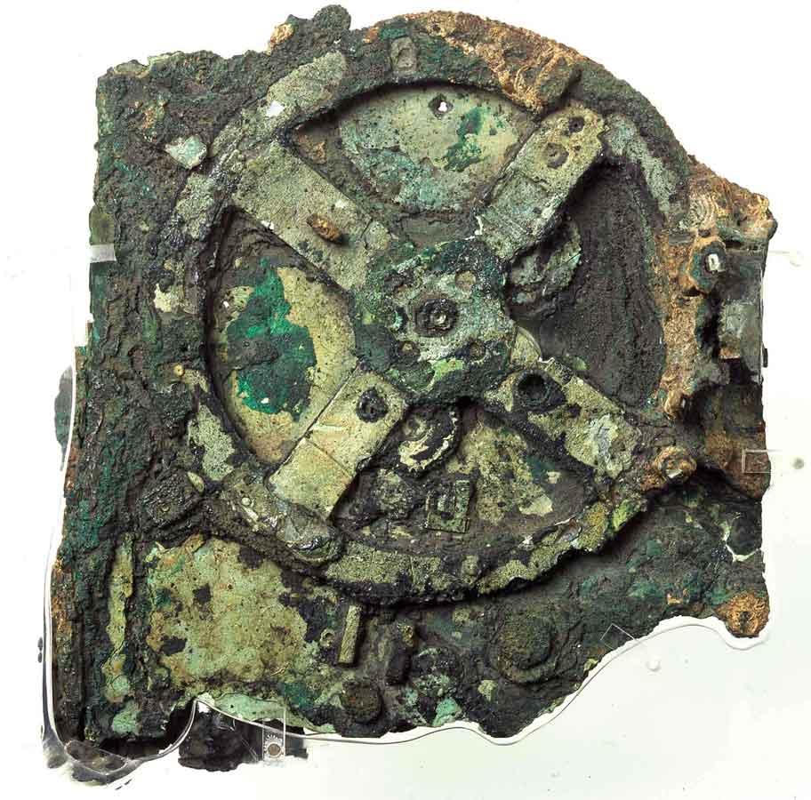 Ο Μηχανισμός των Αντικυθήρων. Εθνικό Αρχαιολογικό Μουσείο.