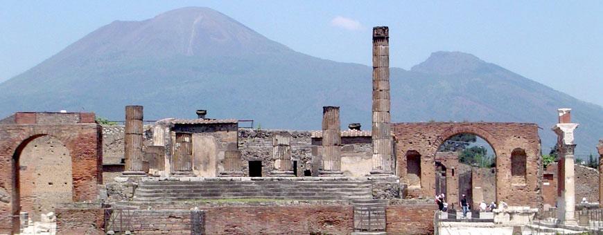 Άποψη της Πομπηίας.