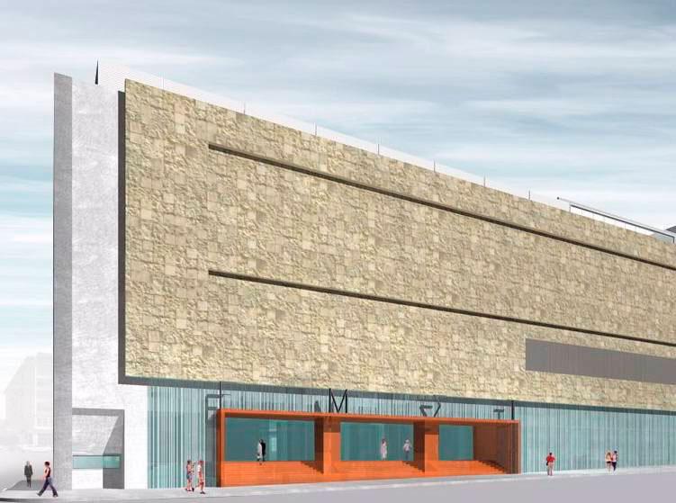 Η μακέτα του νέου Εθνικού Μουσείου Σύγχρονης Τέχνης.