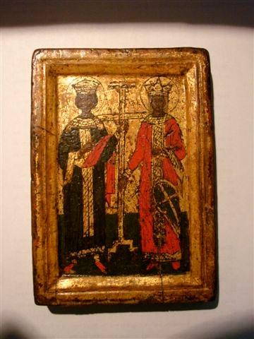 Μεταβυζαντινή εικόνα που εντοπίστηκε στην Temple Gallery του Λονδίνου.