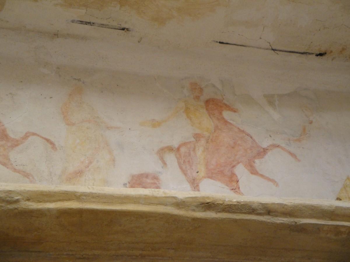 Ταφική τοιχογραφία, Αλεξάνδρεια, Αίγυπτος.