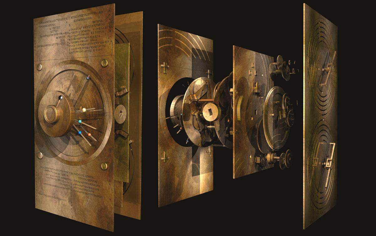 Σκηνή από το ντοκιμαντέρ «Ο πρώτος υπολογιστής του κόσμου» (συμπαραγωγή της ΕΡΤ) που θα προβάλλεται στο πλαίσιο της έκθεσης «Το ναυάγιο των Αντικυθήρων».