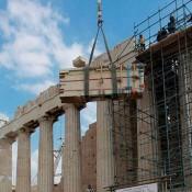 Ακάθεκτα προχωρούν τα έργα στην Ακρόπολη