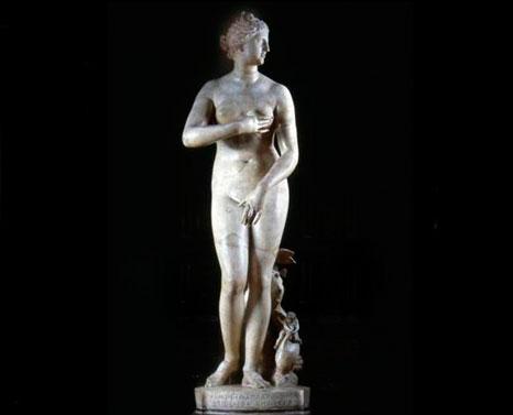 Η Αφροδίτη των Μεδίκων. Galleria degli Uffizi, Φλωρεντία.
