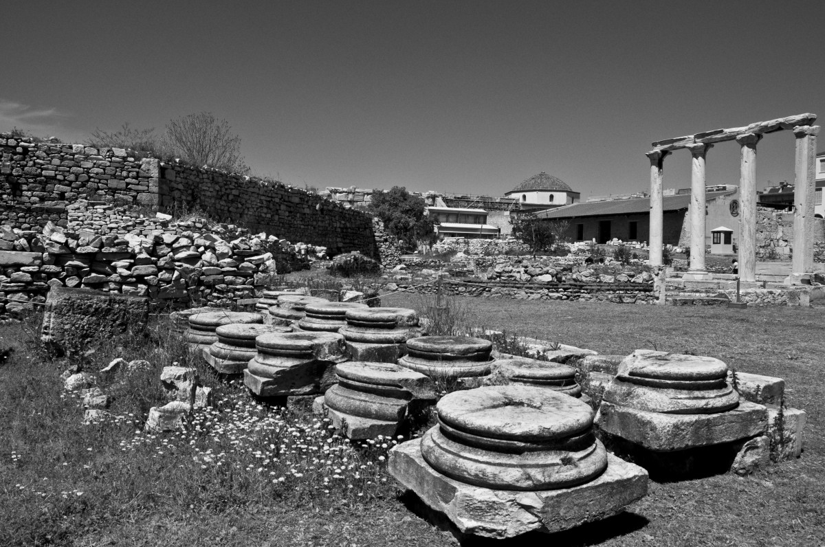 Ρωμαϊκή Αγορά – Βιβλιοθήκη Αδριανού