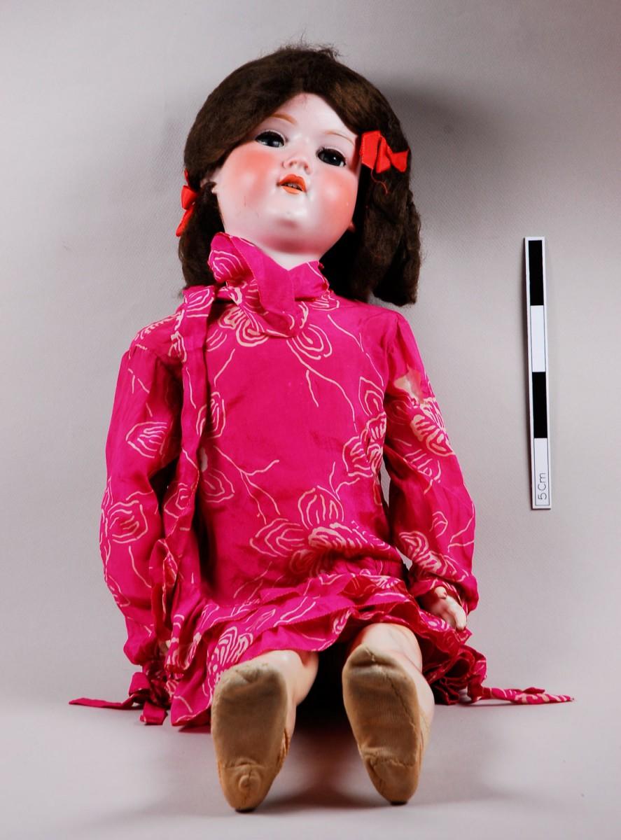 Εικ. 29. Π.Λ.Ι., αρ. ευρ. 1986.18.0030, bisque child doll, Armand Marseille, η κούκλα πριν από τη συντήρηση.