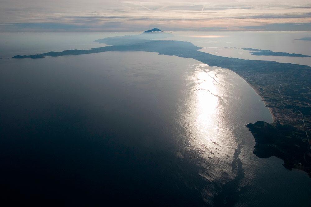 Εικ. 2. Όρος και χερσόνησος στο ανατολικό μέρος της Χαλκιδικής στα αρχαία χρόνια λεγόταν Ακτή.