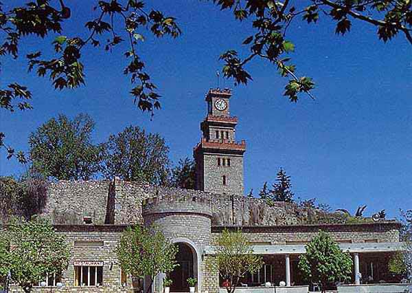 Άποψη του Κάστρου των Τρικάλων.