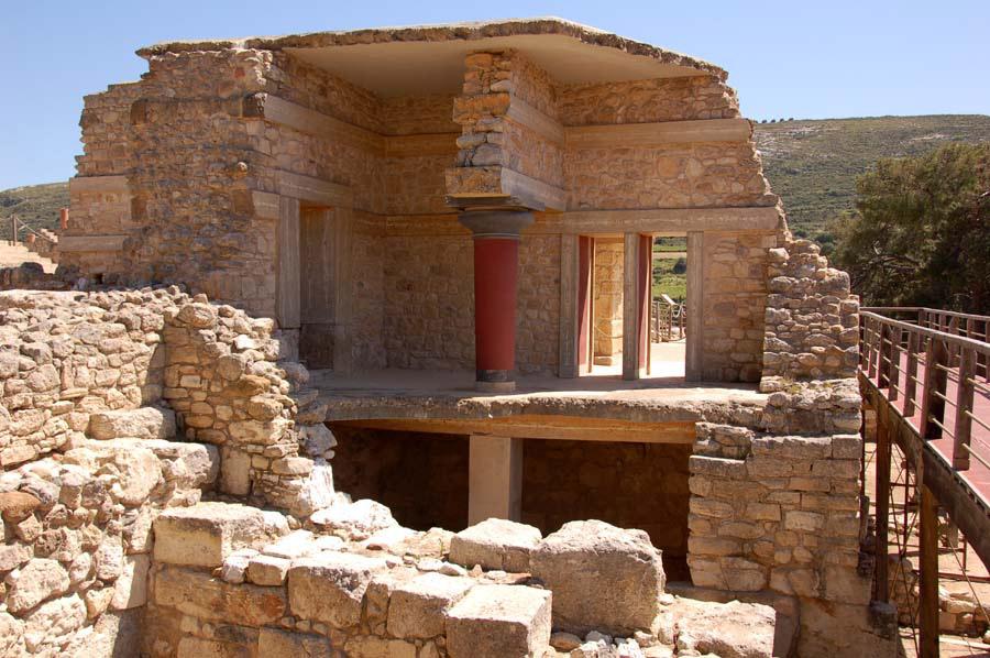 Αρχαιολογικός χώρος Κνωσού, Νότια Οικία.