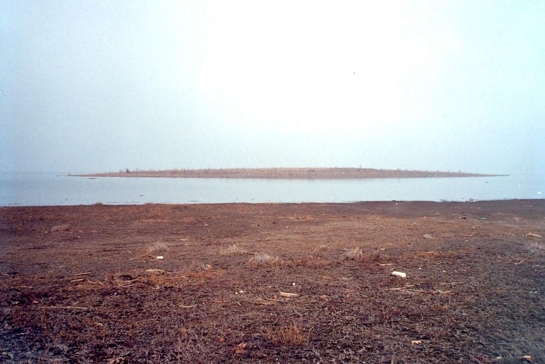 Εικ. 5. Ο νεολιθικός οικισμός της θέσης Βαρεμένοι Γουλών, από νότια.