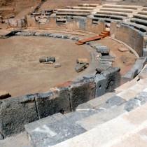 Συνάντηση εργασίας για το αρχαίο θέατρο Μαρώνειας
