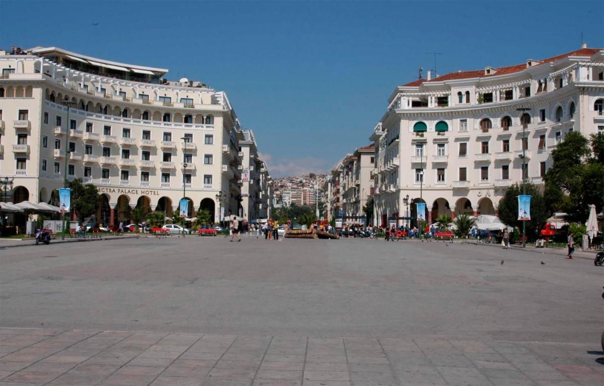 Η Πλατεία Αριστοτέλους στη Θεσσαλονίκη.