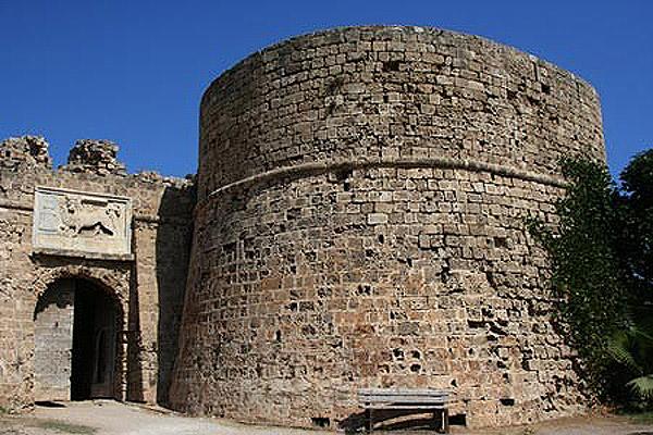 Ο Πύργος του Οθέλλου στην Αμμόχωστο.
