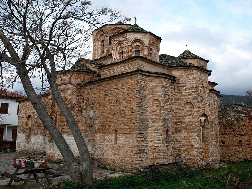 H μονή του Αγίου Παντελεήμονα στην Αγιά Λάρισας.