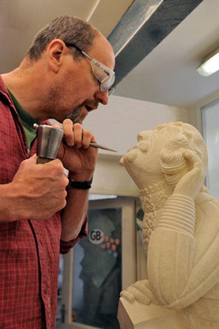Φωτογραφία του Πιερ Μπους από την έκθεση «Η αρχαιολογία στην πράξη».