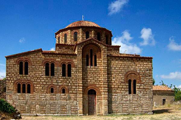 O ναός Μεταμόρφωσης του Σωτήρος στους Χριστιάνους Μεσσηνίας.