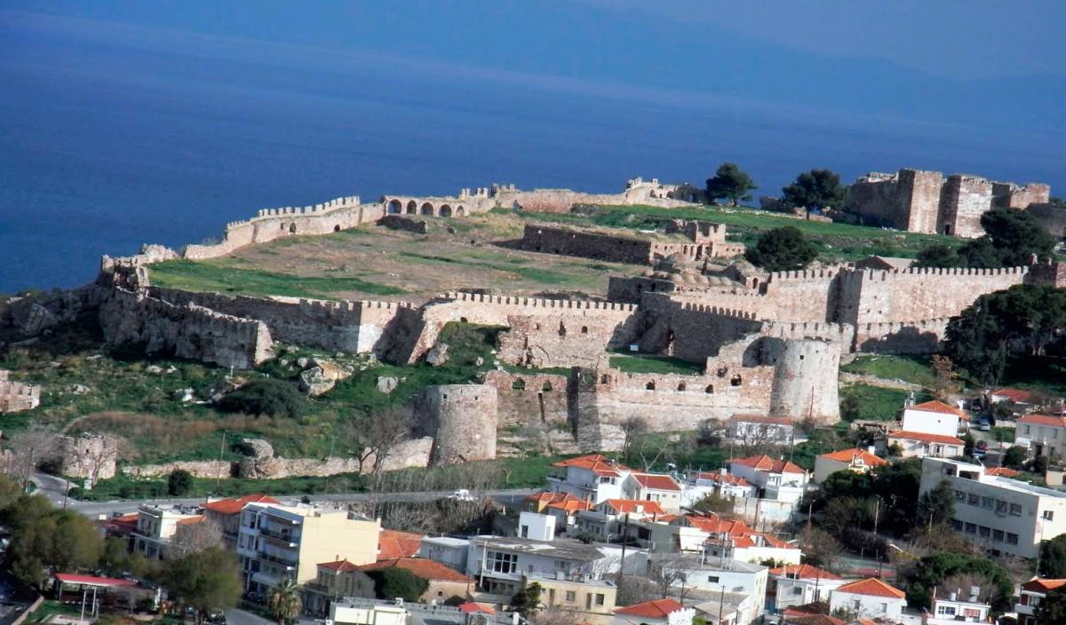 Το Κάστρο της Μυτιλήνης.