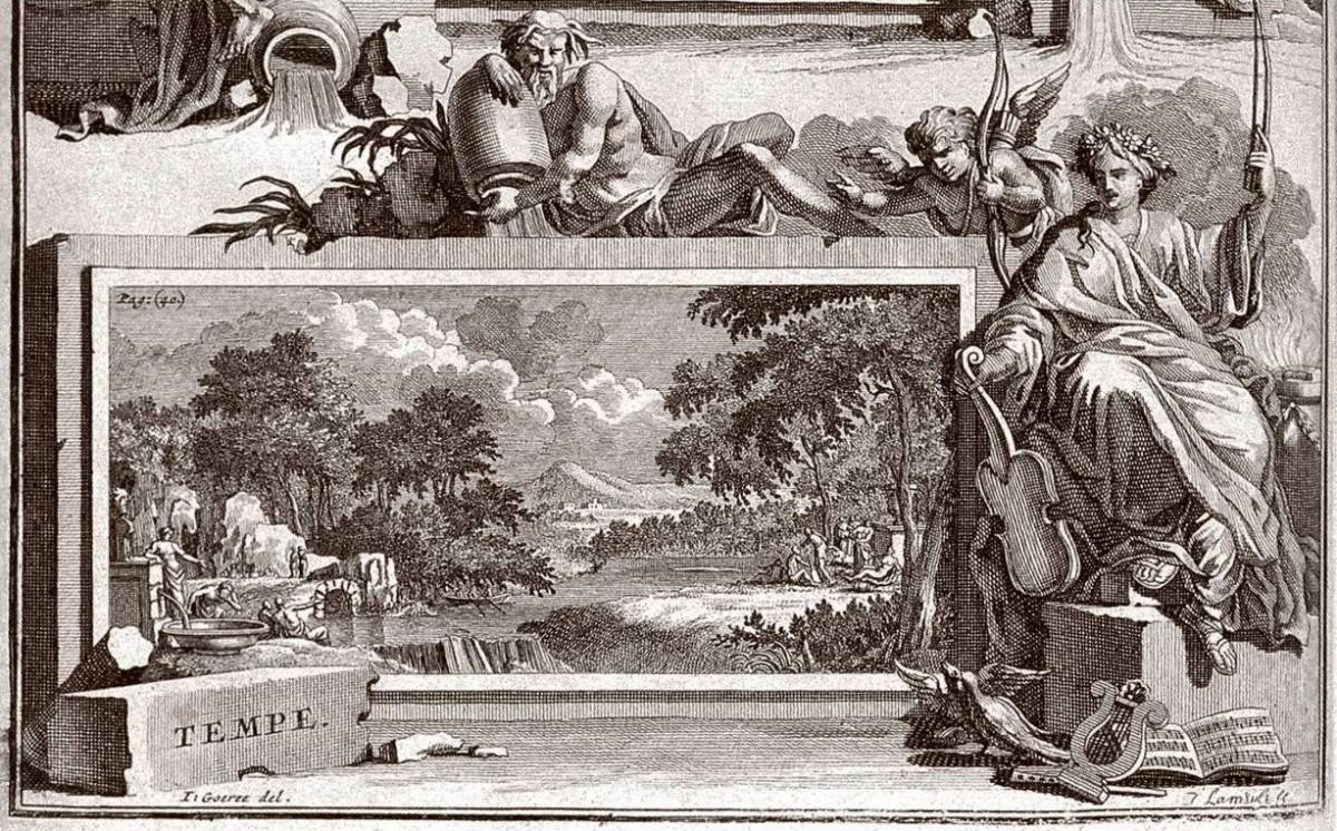 Εικ. 3. Τέμπη. J. Gronobius, 1669.