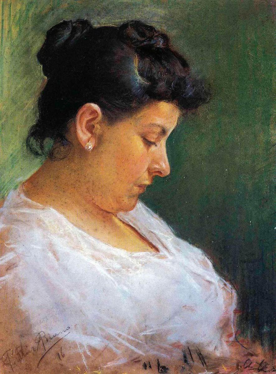 Πορτρέτο της μητέρας του Πάμπλο Πικάσο. Μουσείο Πικάσο, Βαρκελώνη.