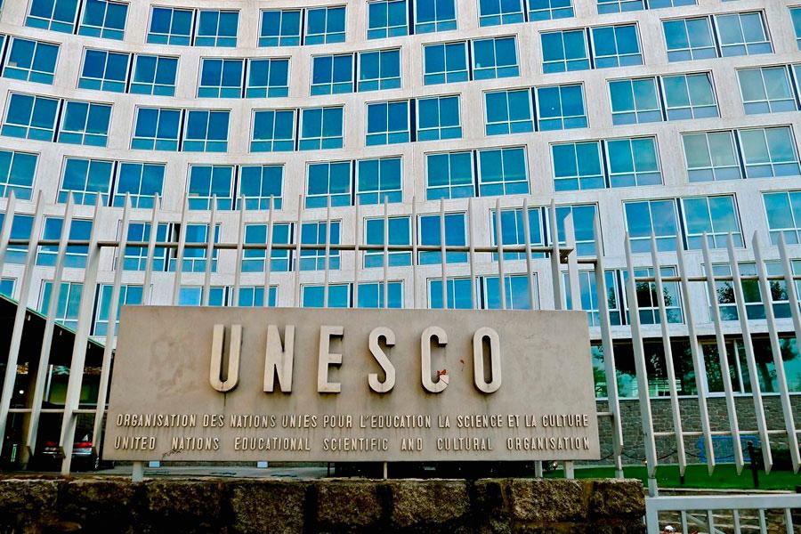 Τα κεντρικά γραφεία της UNESCO στο Παρίσι.
