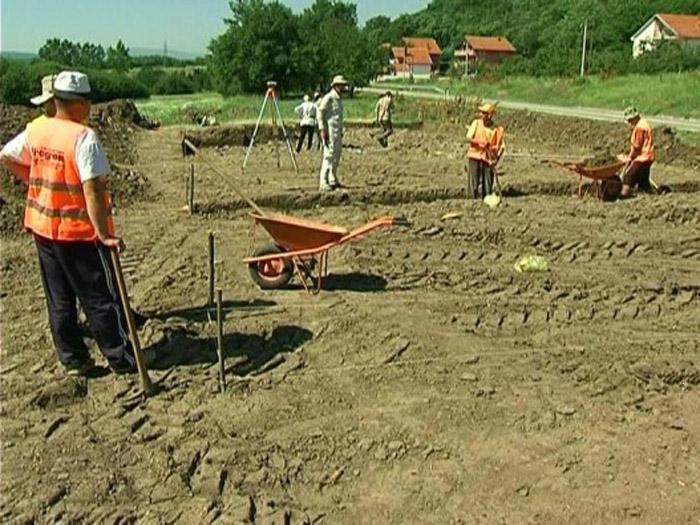 Από την ανασκαφή στο Ranutovac.